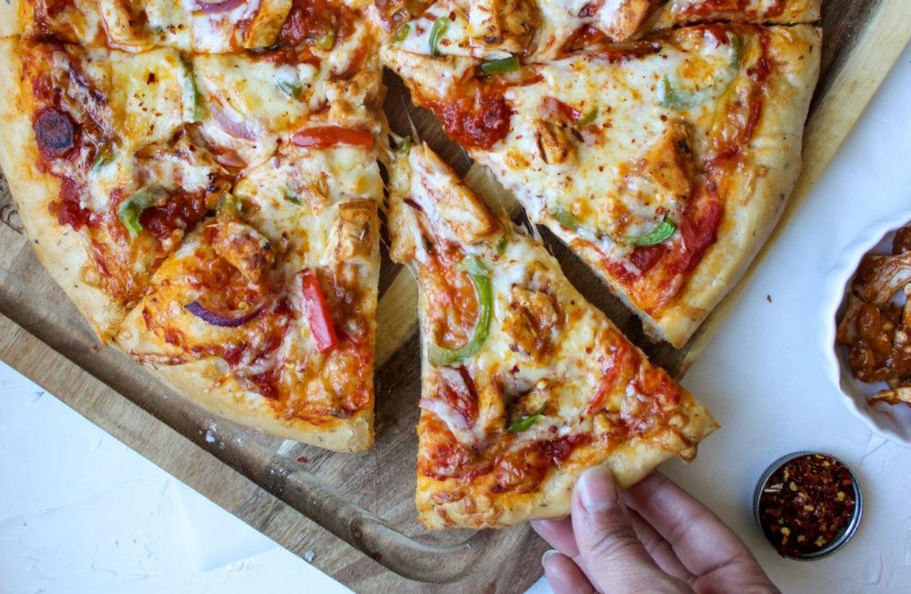 Tandoori Turkey Pizza